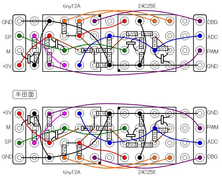 ミミクリーペット5配線図