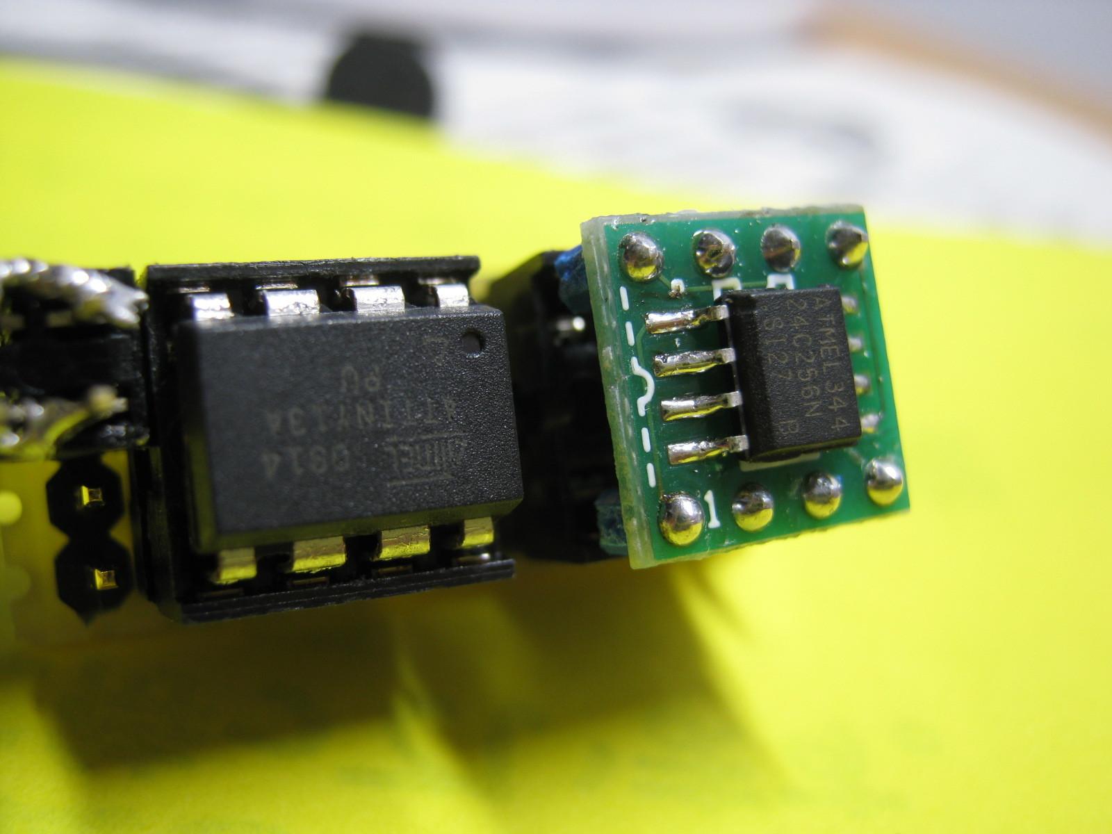 ミミクリ基板換装tiny13A基板