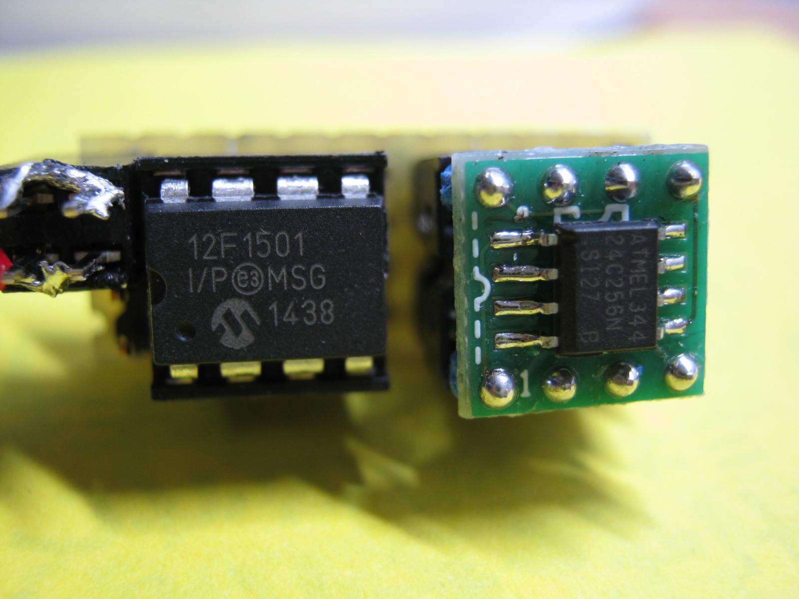 ミミクリ基板換装12F1501基板
