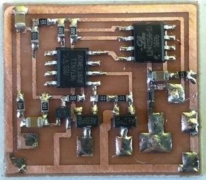 ミミクリーペット系おもちゃの基板換装用の完成基板の頒布(飯塚こわれたおもちゃの相談所)基板外観