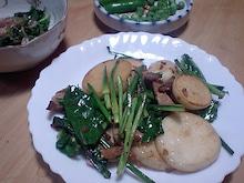 おがのおーがにっくらいふ(★´ひ`★)ゞ-食べ慣れた炒め物