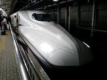 おがのおーがにっくらいふ(★´ひ`★)ゞ-N700系新幹線 新大阪