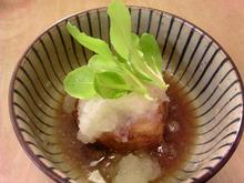 おがのおーがにっくらいふ(★´ひ`★)ゞ-揚げ出し豆腐