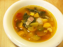 $おがのおーがにっくらいふ(★´ひ`★)ゞ-きごしょうスープ