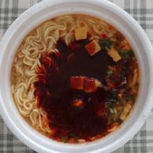 液体スープを入れました