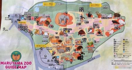パンフレットの案内図