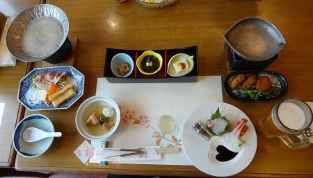 18:03 夫の夕食