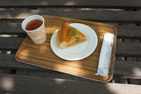 「なかや宗義」さんのケーキセット☆ うたはアップルパイをチョイス♪