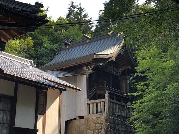 塩飽大工による岡山県で最も古い早瀧比咩神社本殿
