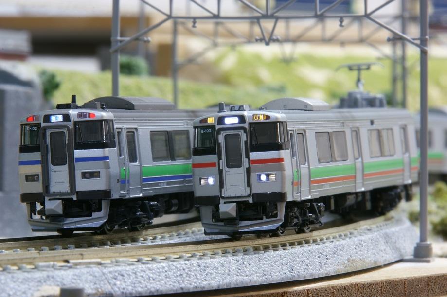 鉄道模型】731系とキハ201系の併結 - ビスタ模型鉄道(エヌゲージ日記)