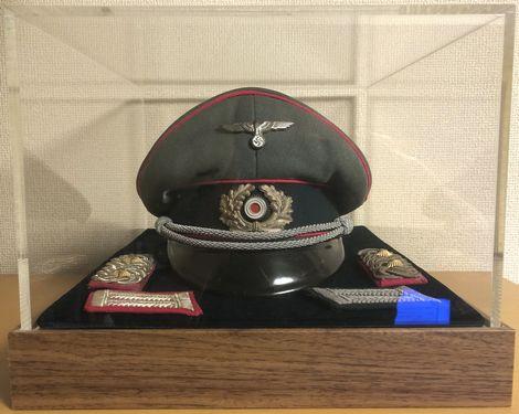 Wehrmacht Heer Schirmmütze für Offiziere im Generalstab