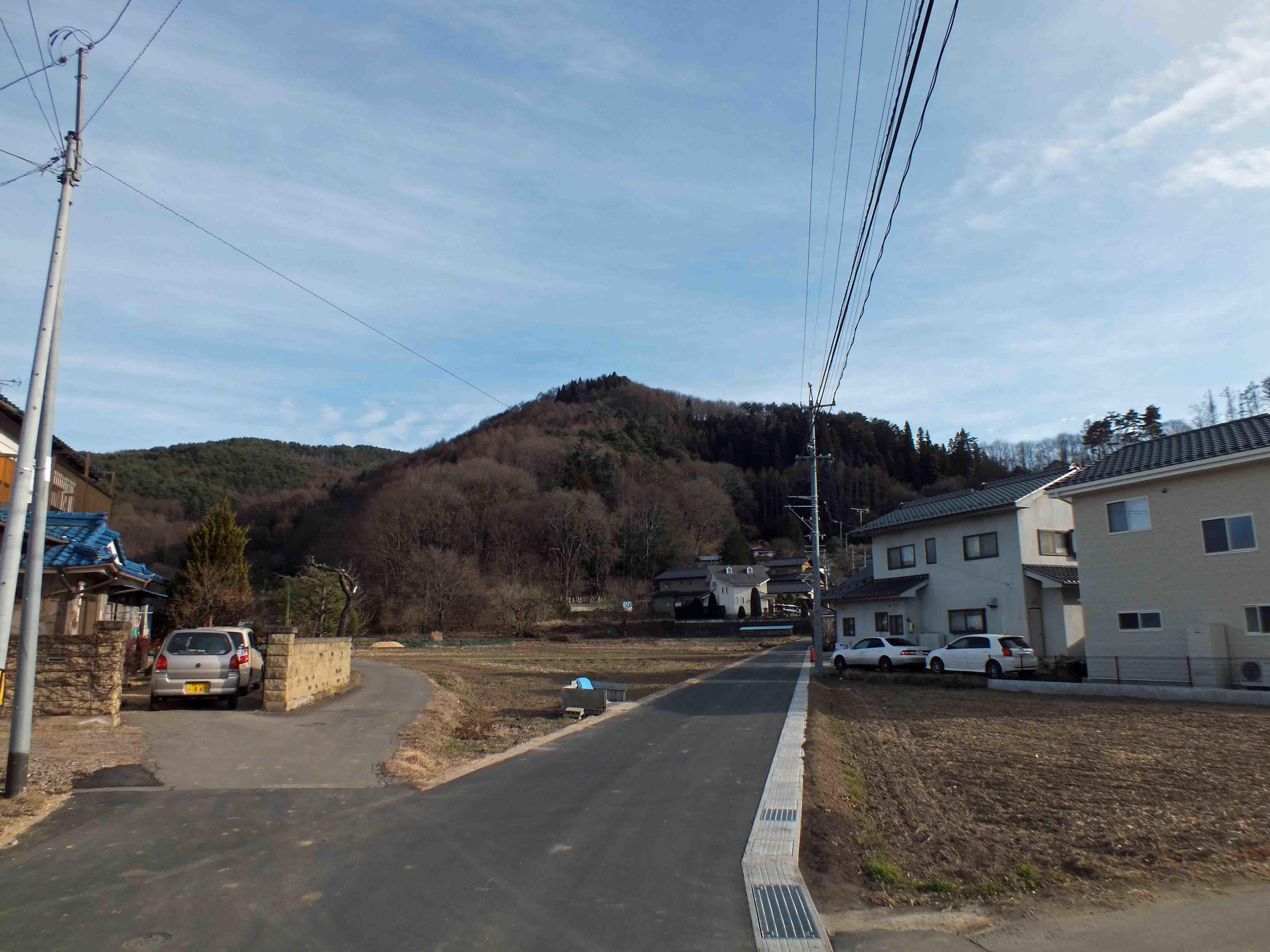 平賀城遠景