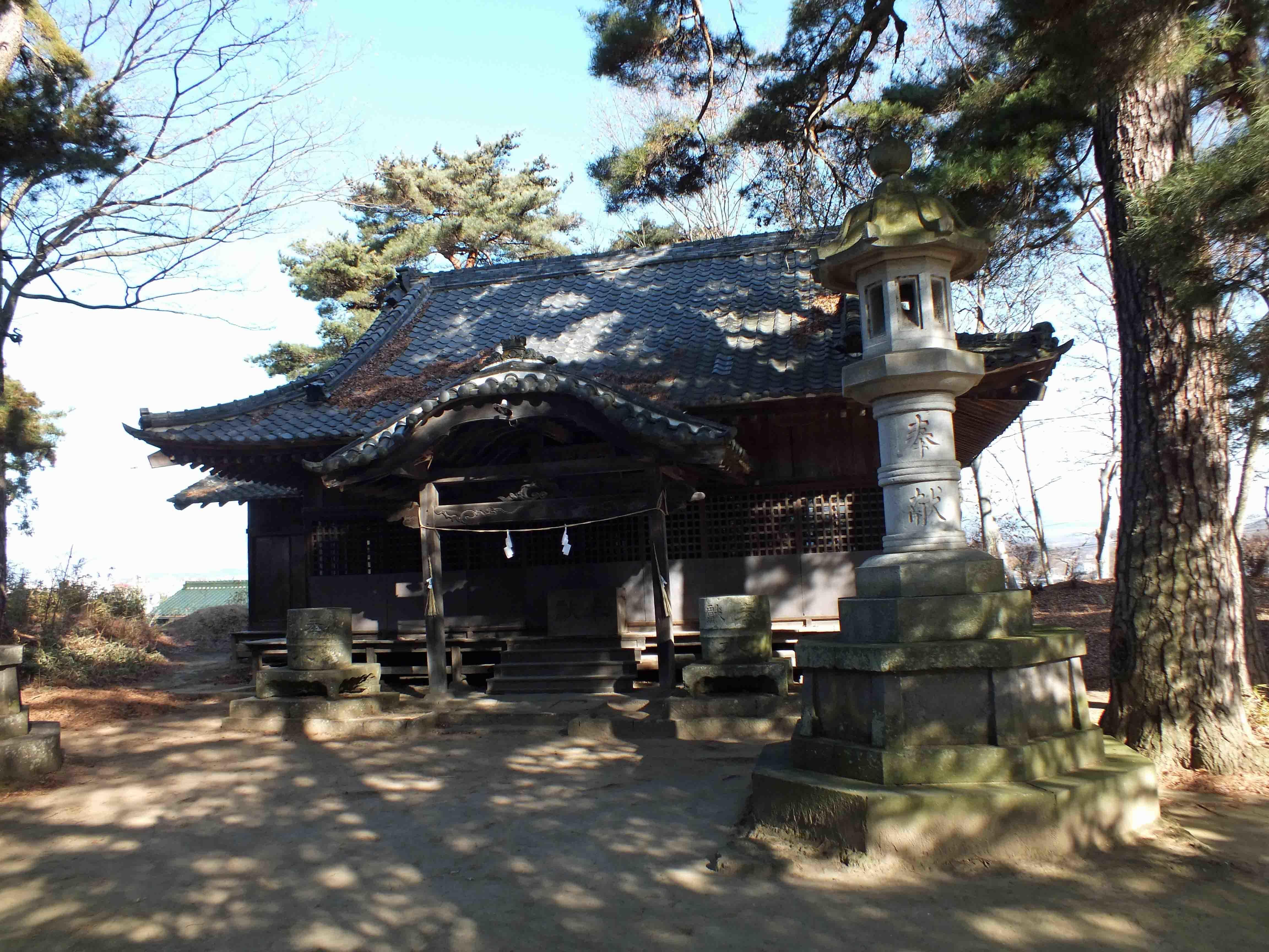 岩村田城 神社