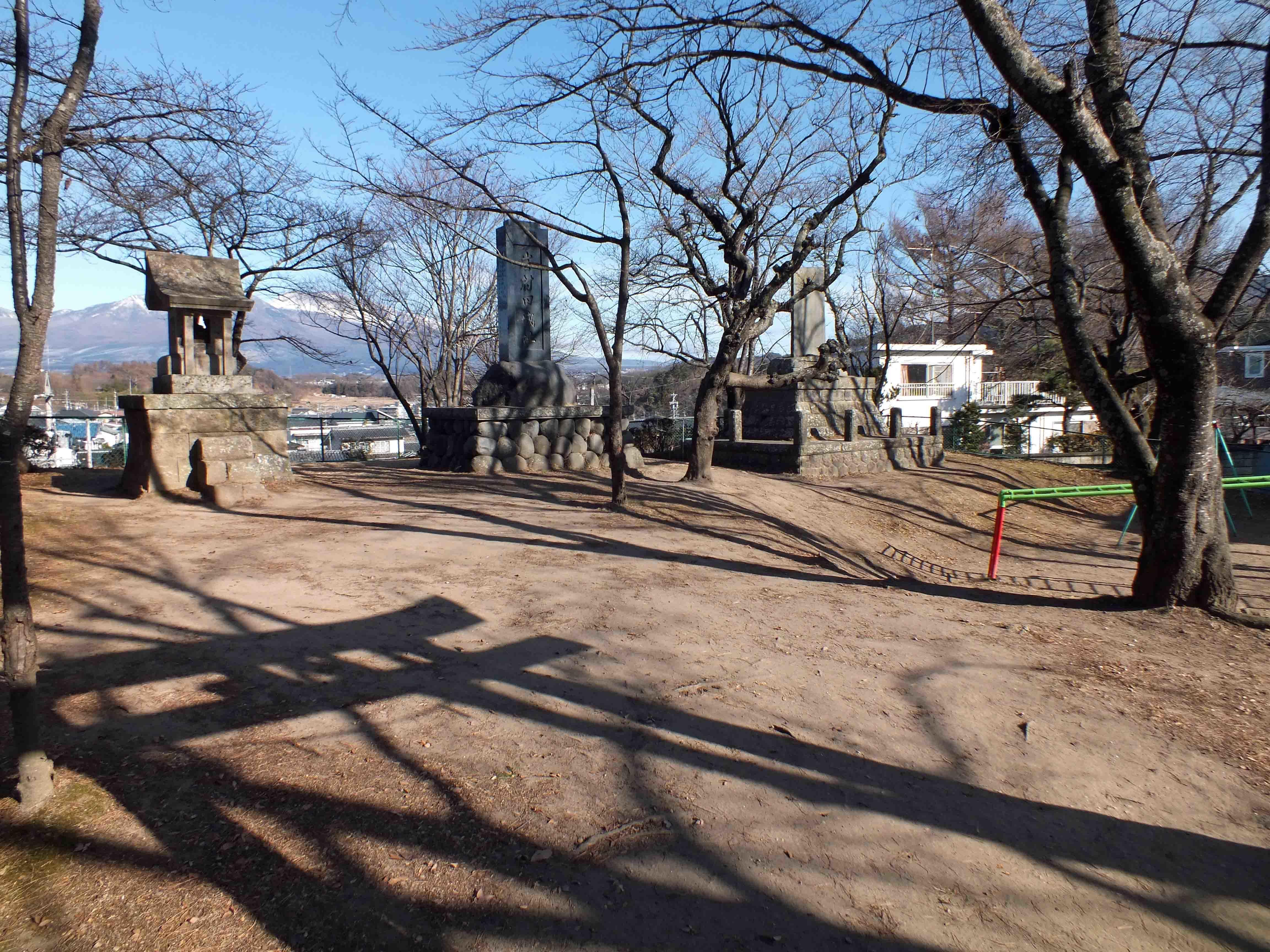 岩村田城 石碑の有る郭