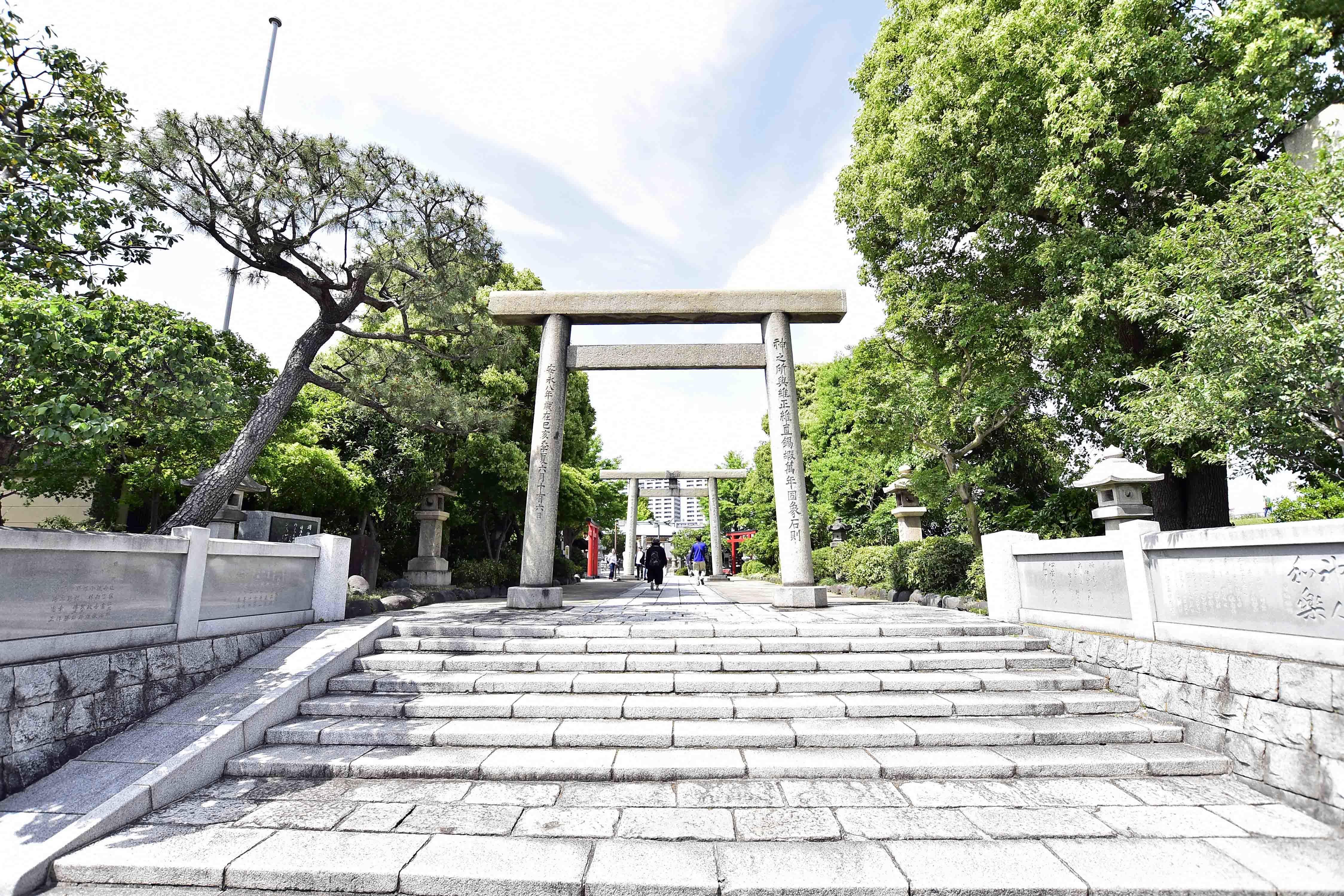 石浜神社 鳥居井