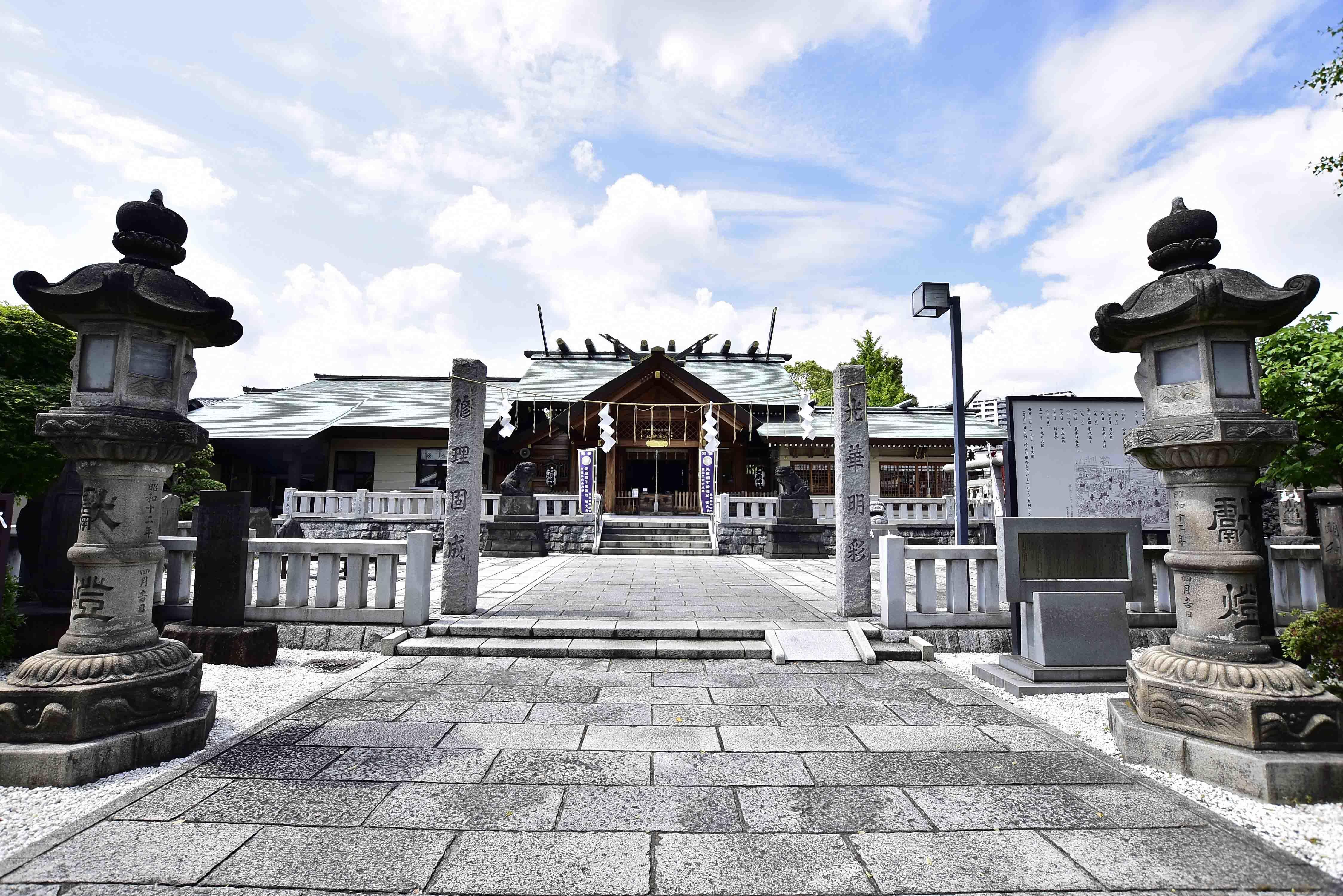 石浜神社 拝殿