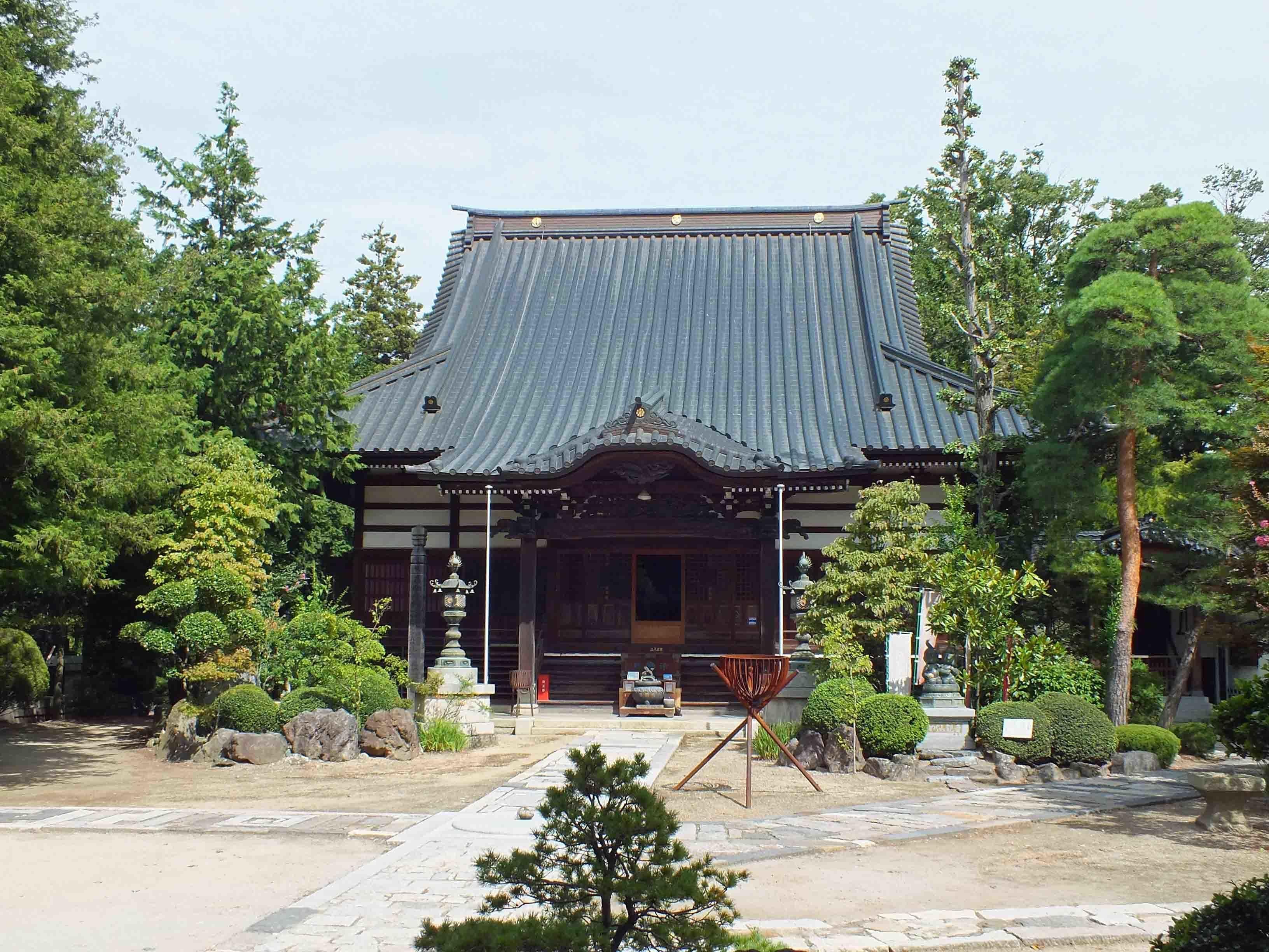 DSCF5486法蔵寺本堂