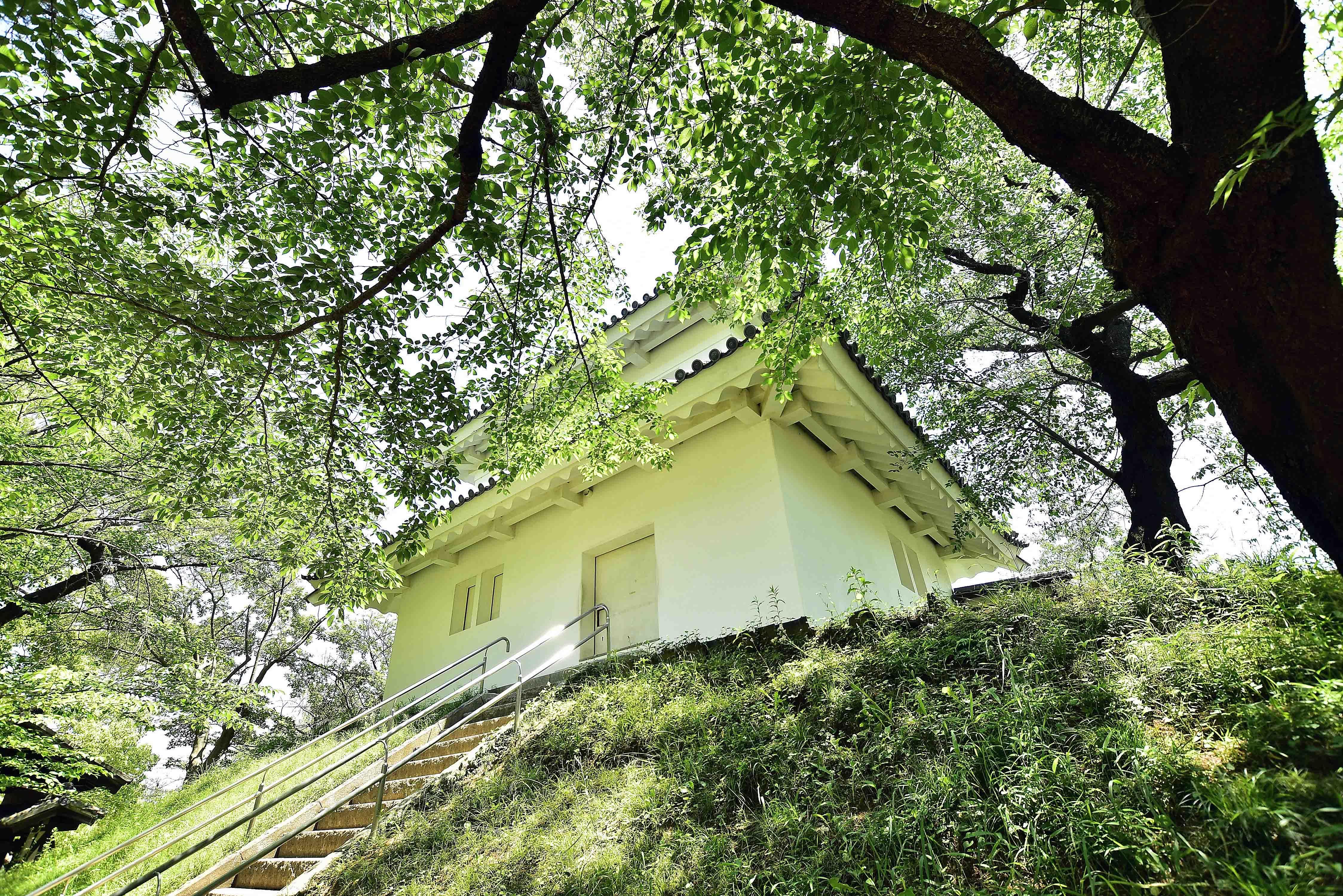 本丸の西櫓
