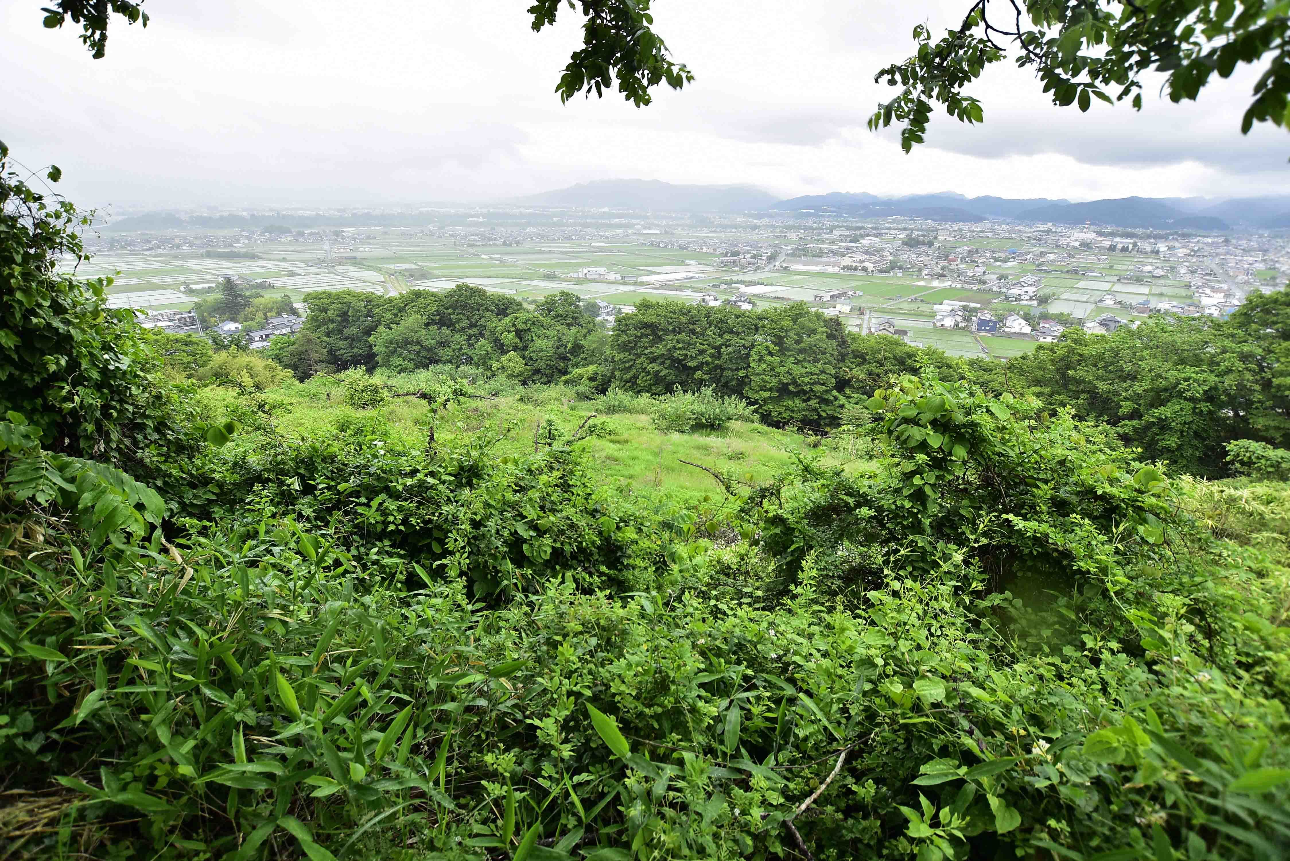 前山城からの展望