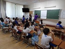 ミャンマー語の授業