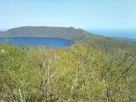 登別 美しいカルデラ湖 クッタラ湖2