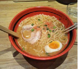 「一幻」のえび味噌ラーメン最高!北海道最高!