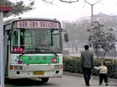 中国のバス1